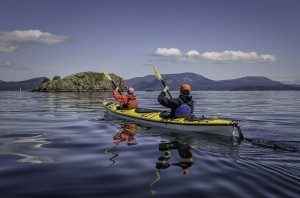 San Juan Islands kayaking